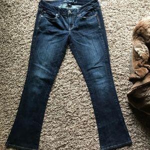 American Eagle Stretch Skinny Kick Jeans Size 10